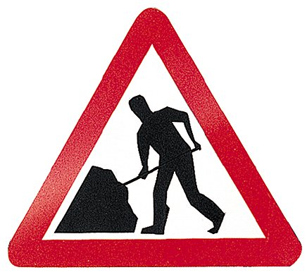 Road Sign Triangle 900mm