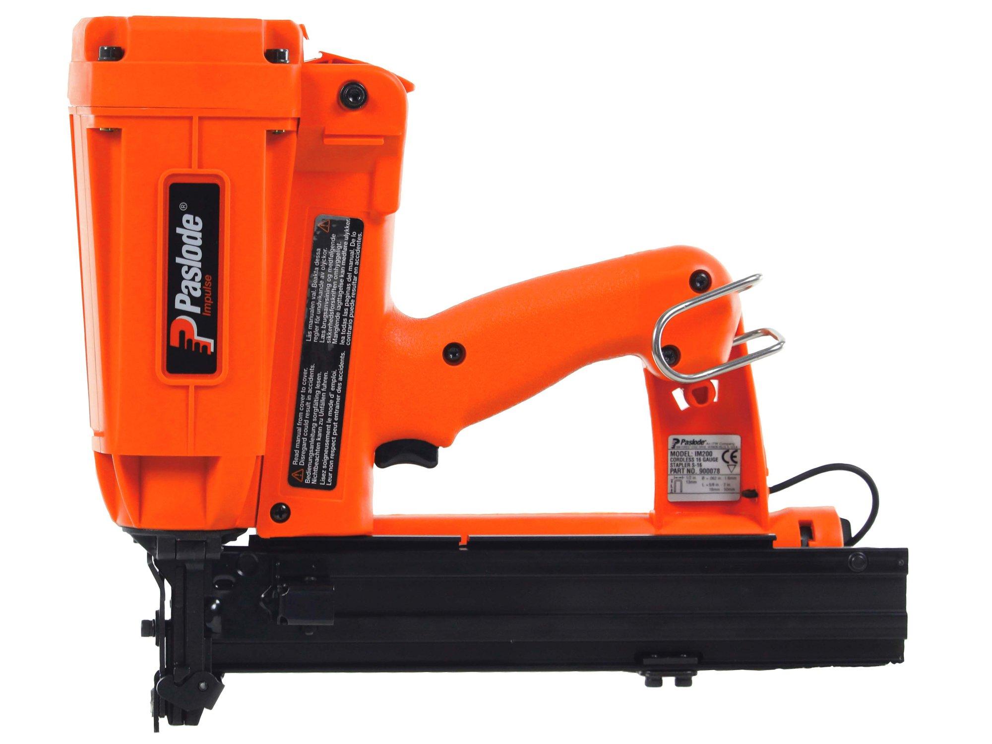 Paslode IM200/50 S16 Stapler Cordless 3.1Kg