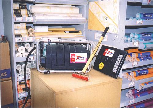Hiretech HTW-5 Steam Wallpaper Stripper 240v 7Kg
