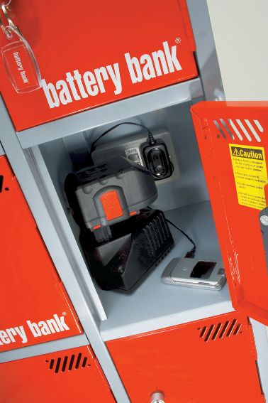 Battery Bank Locker