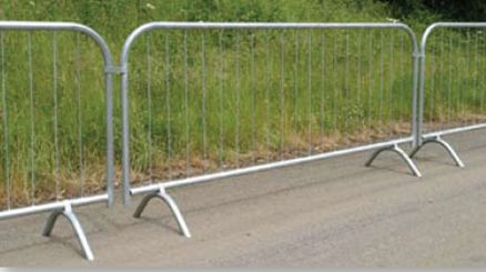 Crowd Control Barrier (Fixed Leg) 2.5m
