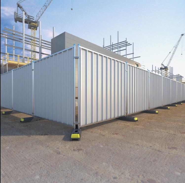 Steel Hoarding 2.1m x 2m