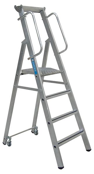 Slimline Steps - Alloy - 1.41m 6 Tread