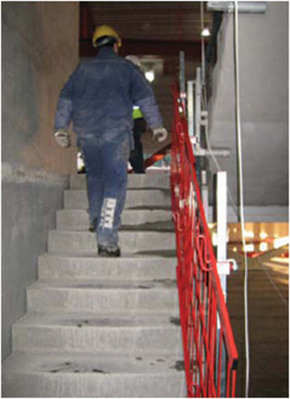 Stairway Edge Protection
