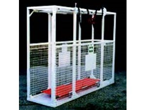 Forced Air Propane Heater >> Stretcher Cage | Speedy Services