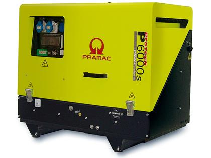 Super Silenced Generator Diesel 6kva