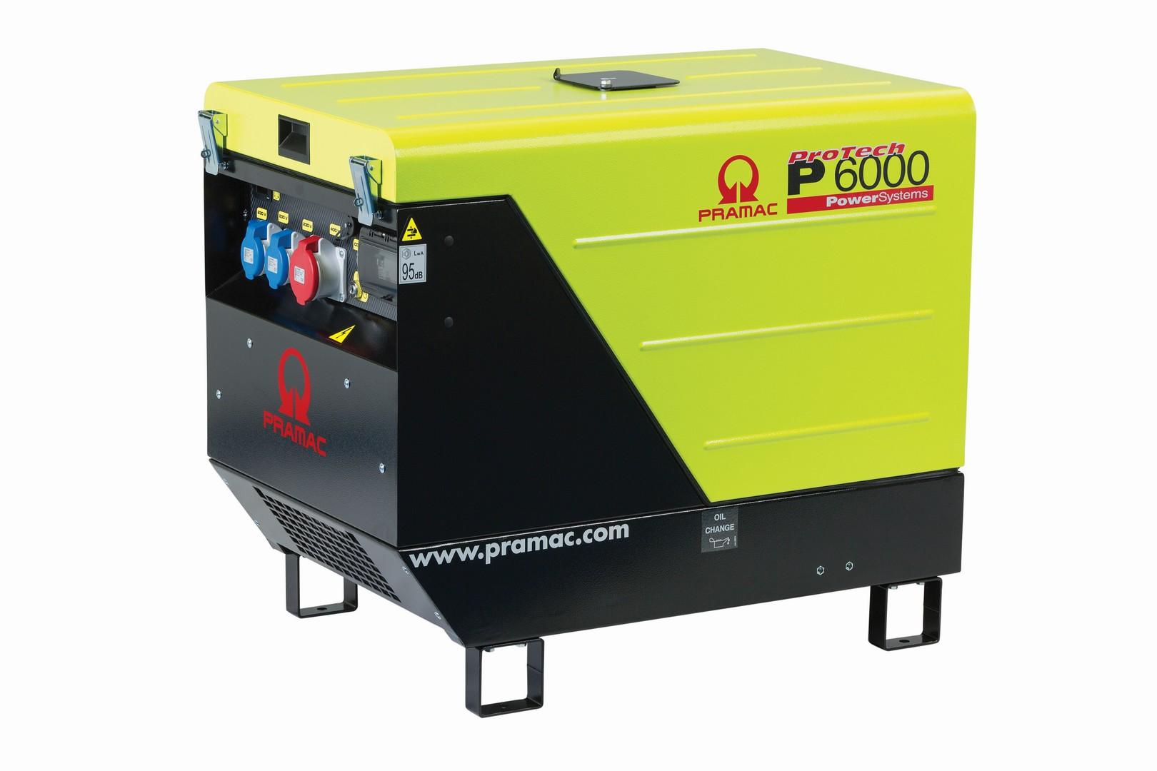 Silenced Generator Diesel 6kva