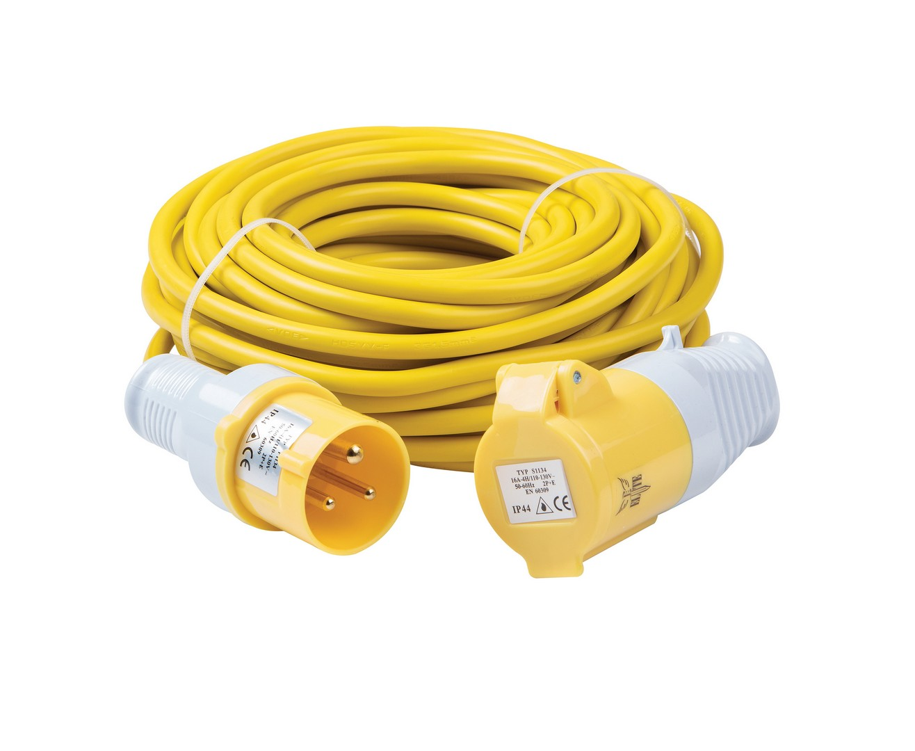 Extension Lead 2.5mm 16a 110v 14m