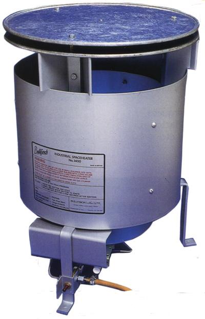 Heater - LPG Bin Boxer