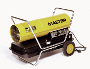 Master B150 Direct Oil Heater