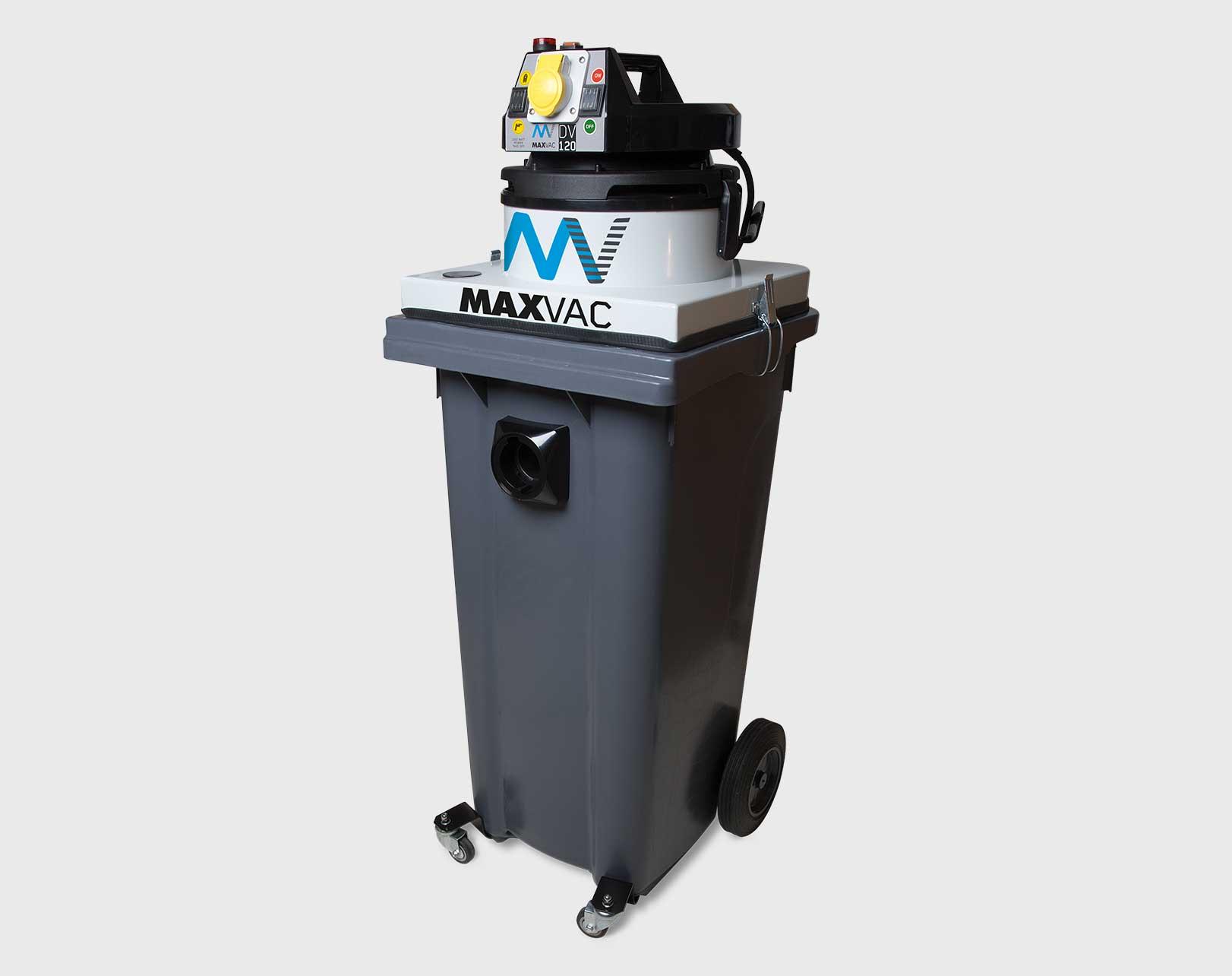 MAXVAC DV-120-MB 120L DUST BIN VACUUM 110V