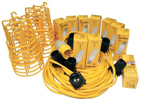 Festoon Light - Energy Saving Kit - 25M