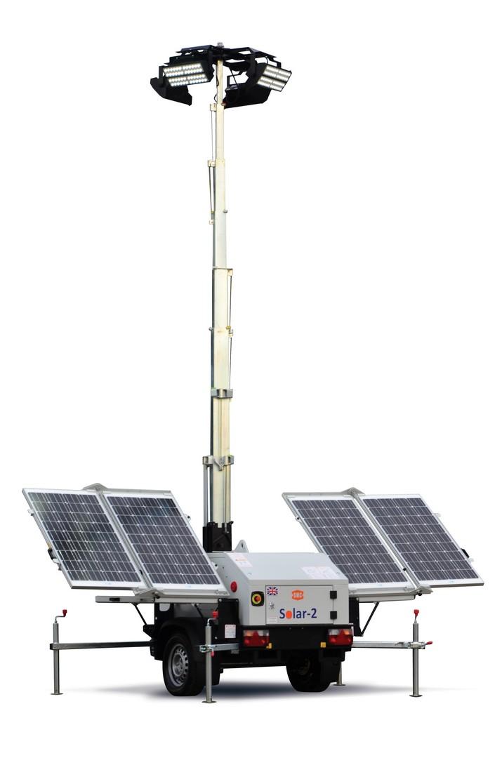 SMC Solar-2 LED Lighting Tower 24v 1160Kg