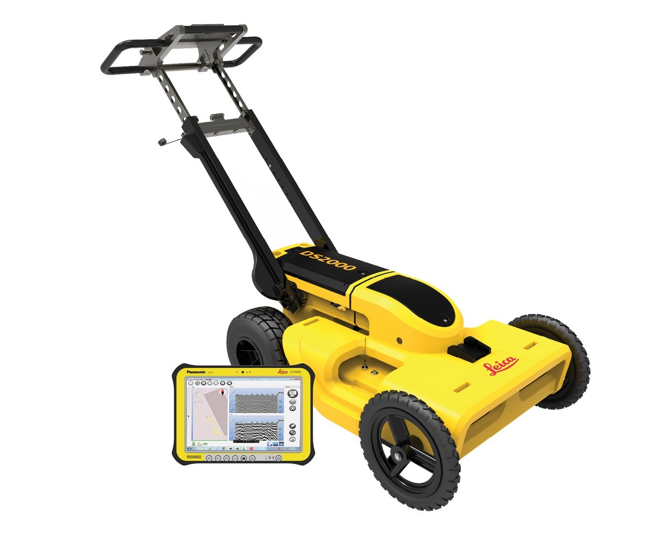 Ground Penetrating Radar Leica DS2000