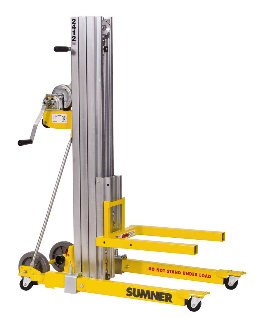 Compact Material Lift