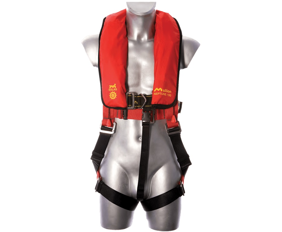 Safety Harness c/w Life Jacket