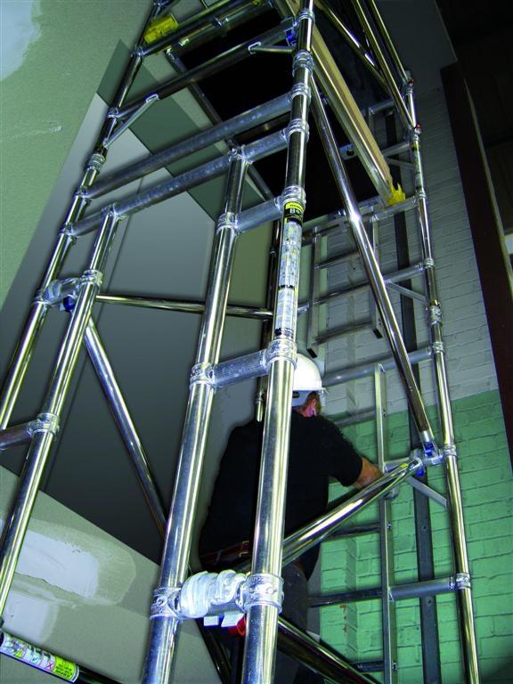 BoSS Liftshaft 1.3m Tower 5.7m Handrail Height
