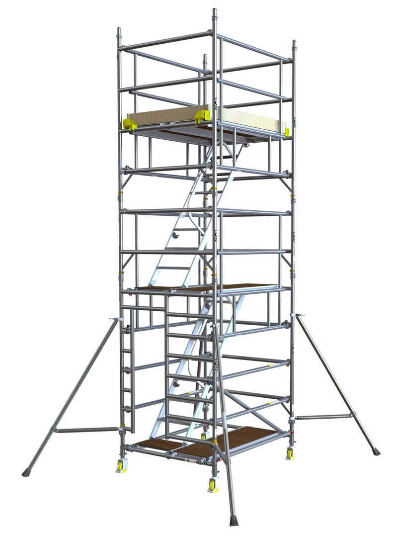 Boss Staircase Tower 1.8m 9.4m Handrail Height