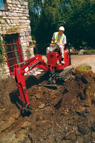 Mini Excavator - 0.8t