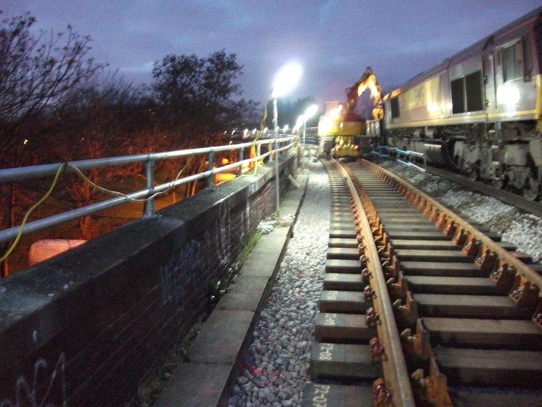 Rail Link Light kit Assembly