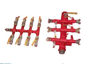 Manifold - 3/4in - 4 Way