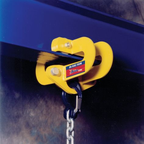 Beam Trolley - Quick Release 5t SWL