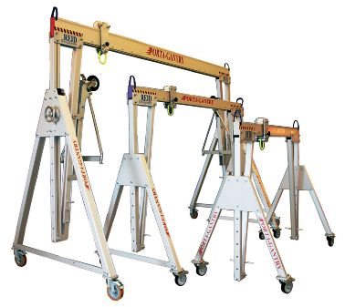 Gantry A Frame Alloy Tall SWL 2t (Pair)