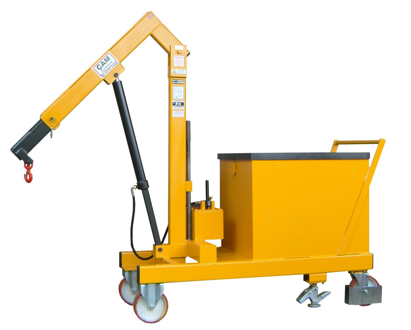 Floor Crane Counter Balance 500kg SWL