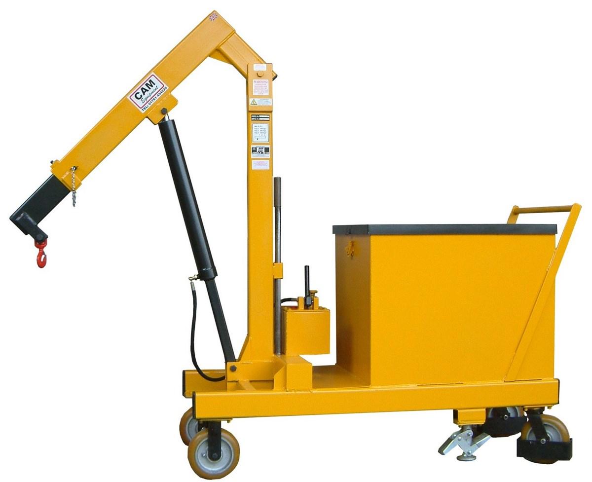 70 6405 H Floor Crane Counter Balance 1t Swl