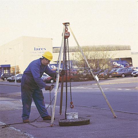Shear Legs 3m 500kg SWL