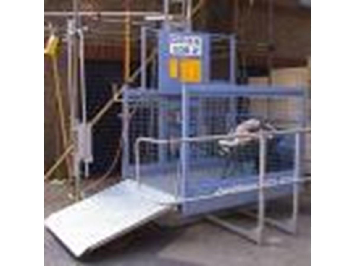 71 5290 H Geda 500z Rack Amp Pinion Hoist Base Unit