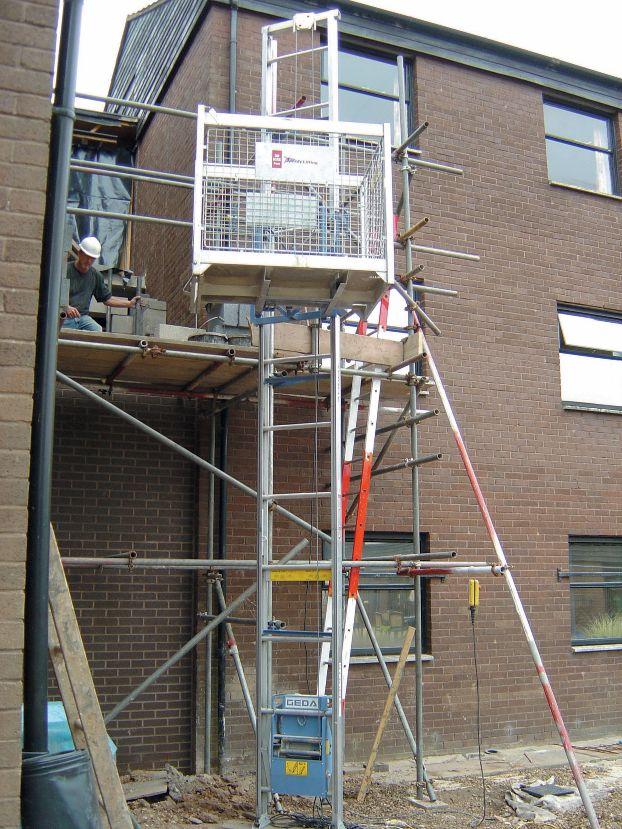 Ladder Hoist - 2m Section