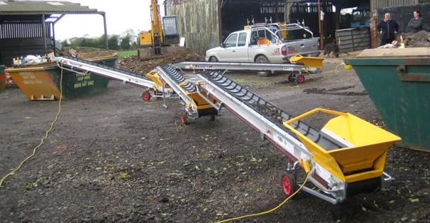 Conveyor Section - 4.4m Aluminium 150kg SWL