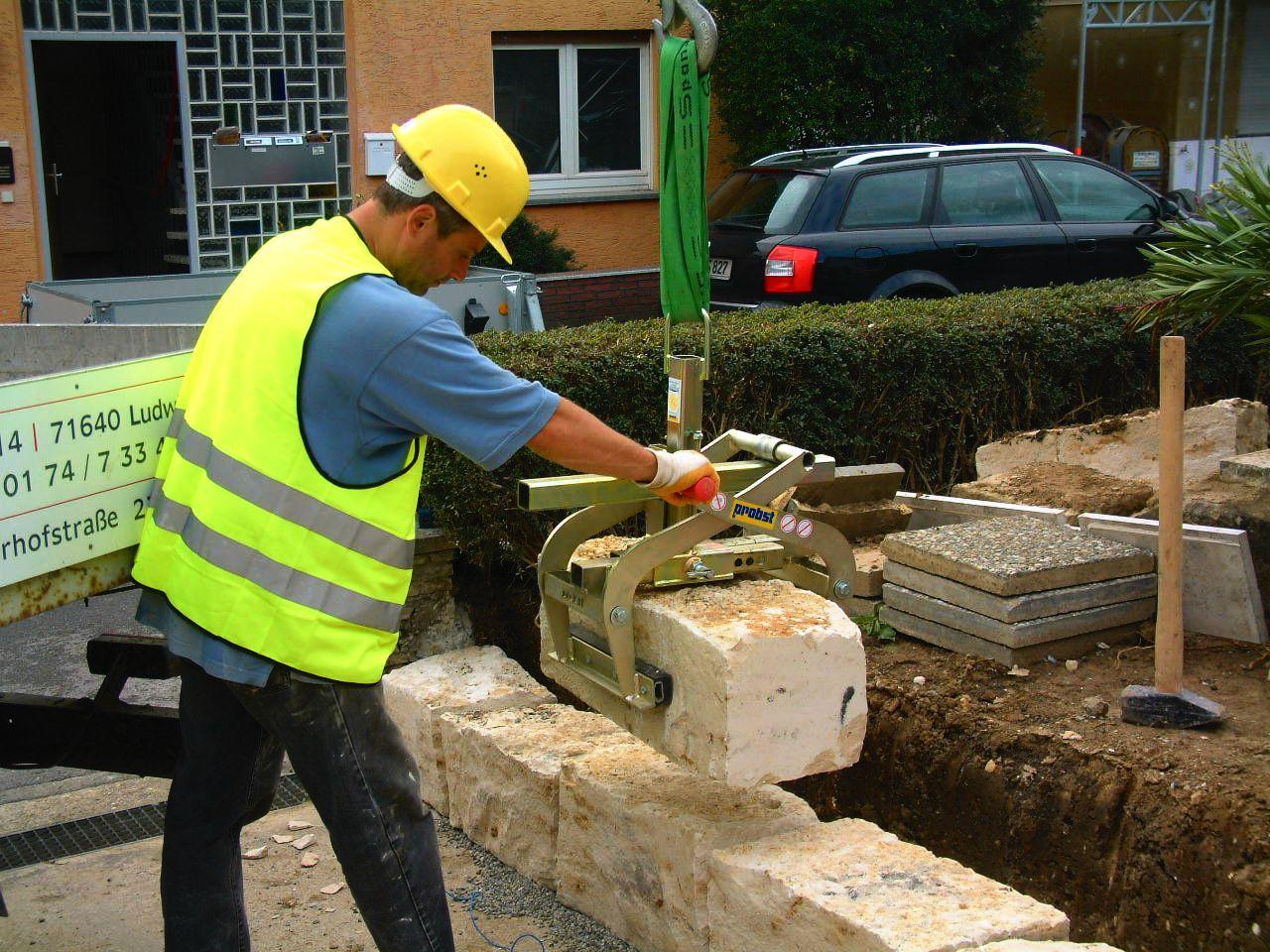 Probst TSZ Concrete Step Handles 600Kg SWL