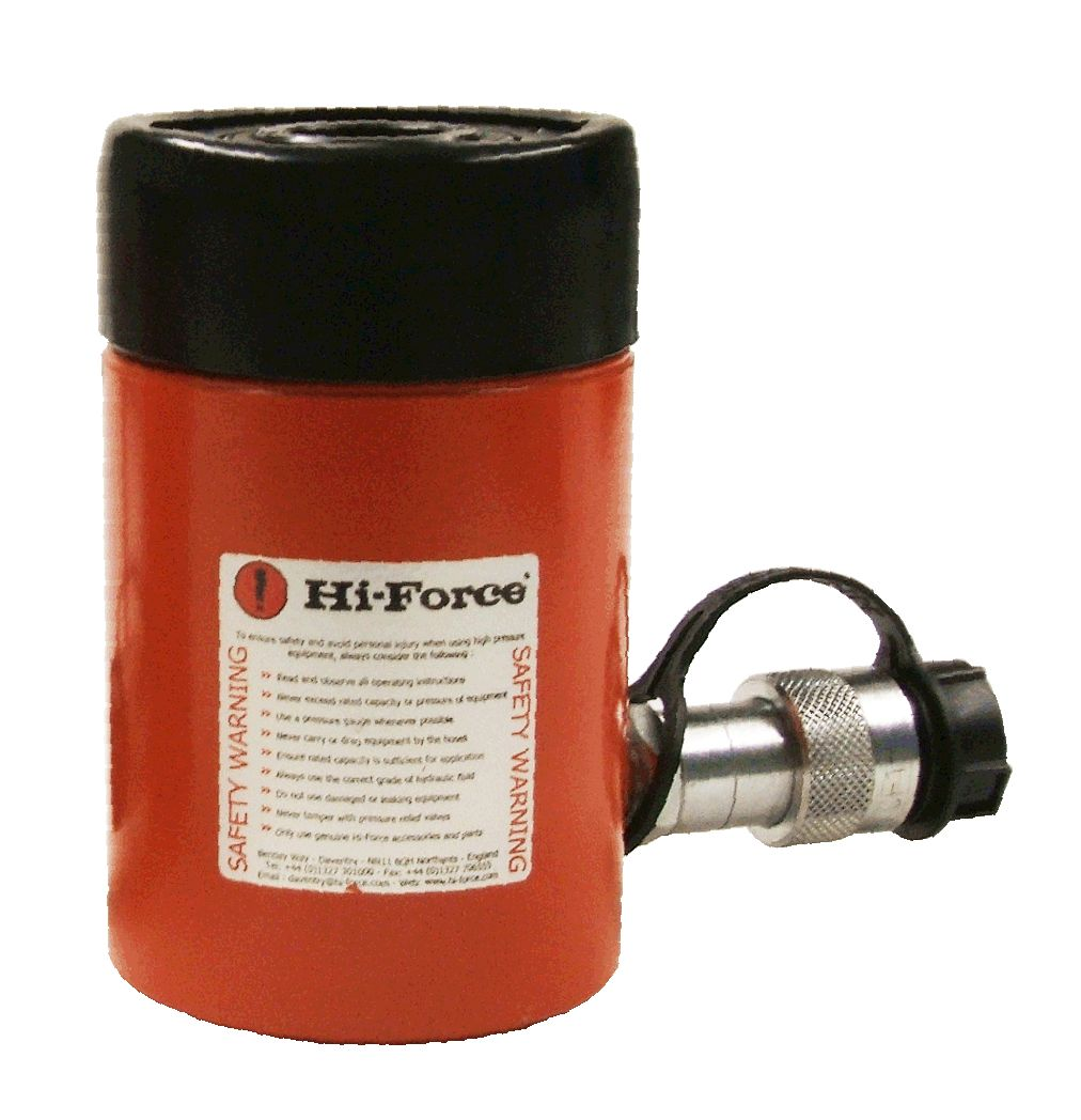 Hollow Cylinder 23t SWL 50mm Stroke 160mm Closed Height