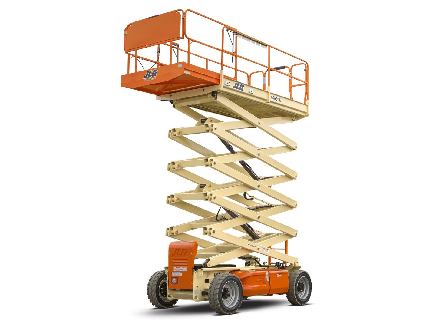 14m Electric Scissor Lift - Mth