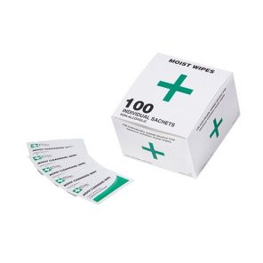 Plasters And Wipes Alcohol Free Cleansing Wipes (Bx 100)