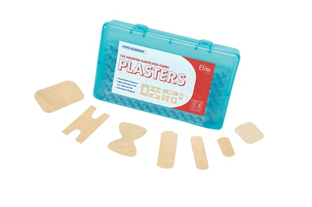 Plasters And Wipes Assorted Fabric Plasters (Bx 120)