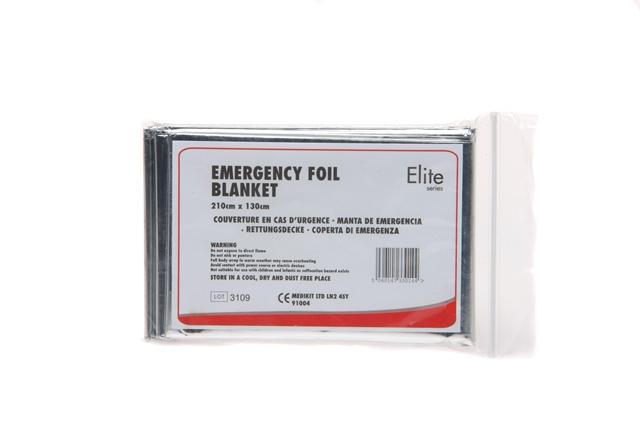 Emergency Foil Blanket 2.1M X 1.3M