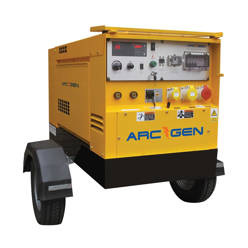 ArcGen 330CC/CV Welder Generator Diesel 300A