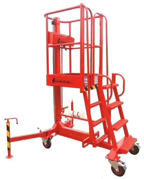 Quick Step 200 Push Work Platform 1.96m SWL 150Kg (1 Man)
