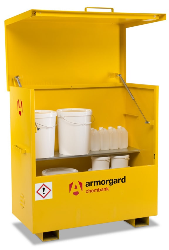 Chemical Storage Site Box 1270 x 1275 x 675mm 150Kg