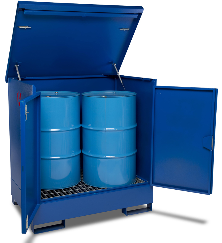 Fuel Drum Store Security 178Kg