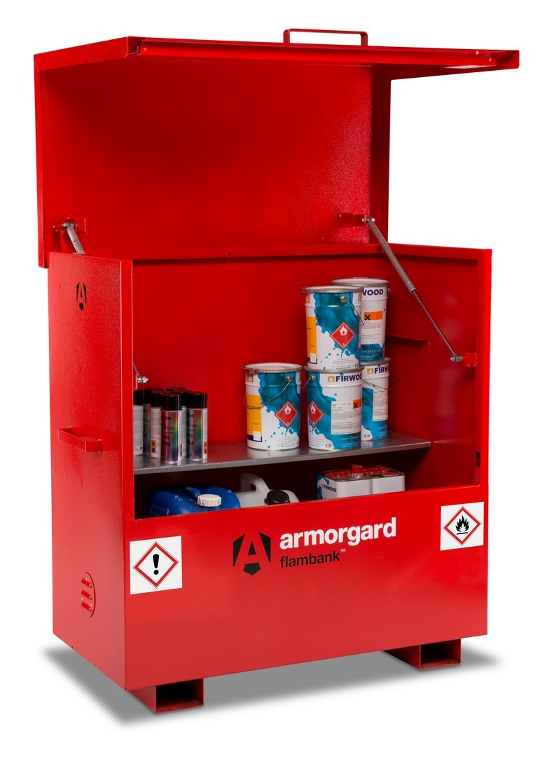 Fireproof Site Storage Chest 1185 x 1185 x 605mm 153Kg