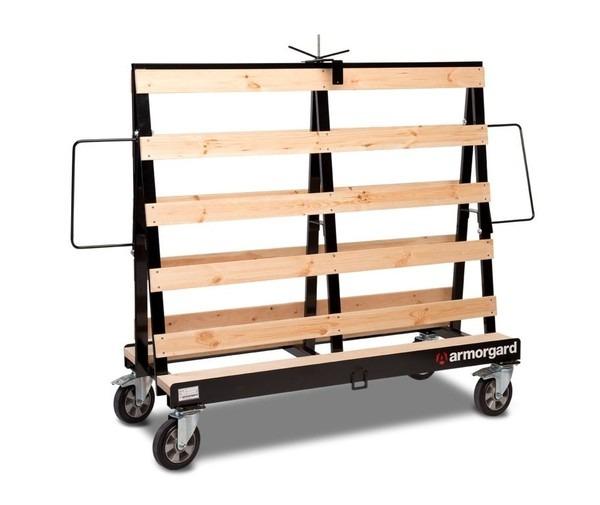 Armorgard Loadall LA1500 4 Wheel Board Trolley 1500kg