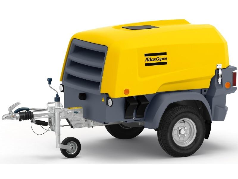 Atlas Copco XAS 48 KD Mobile Compressor Diesel 2-Tool