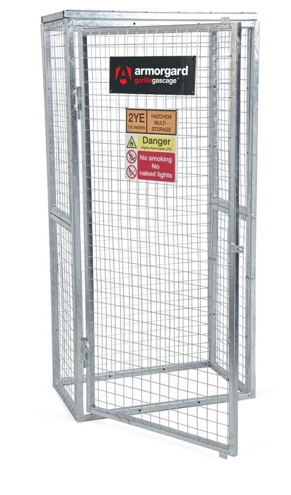 Modular Gas Cage - 900 x 500 x 1800mm