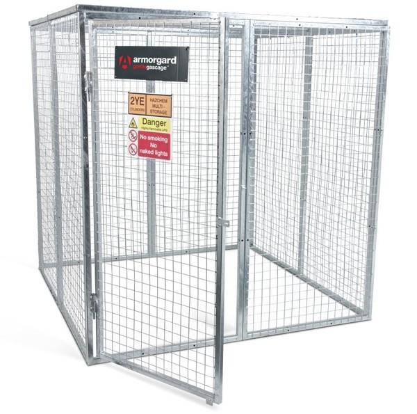 Modular Gas Cage - 1800 x 1800 x 1800mm
