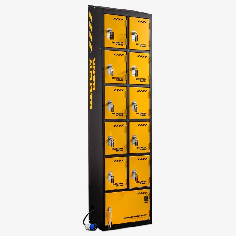 Van Vault E92000 10 Door Battery Bank Locker 240v 63Kg