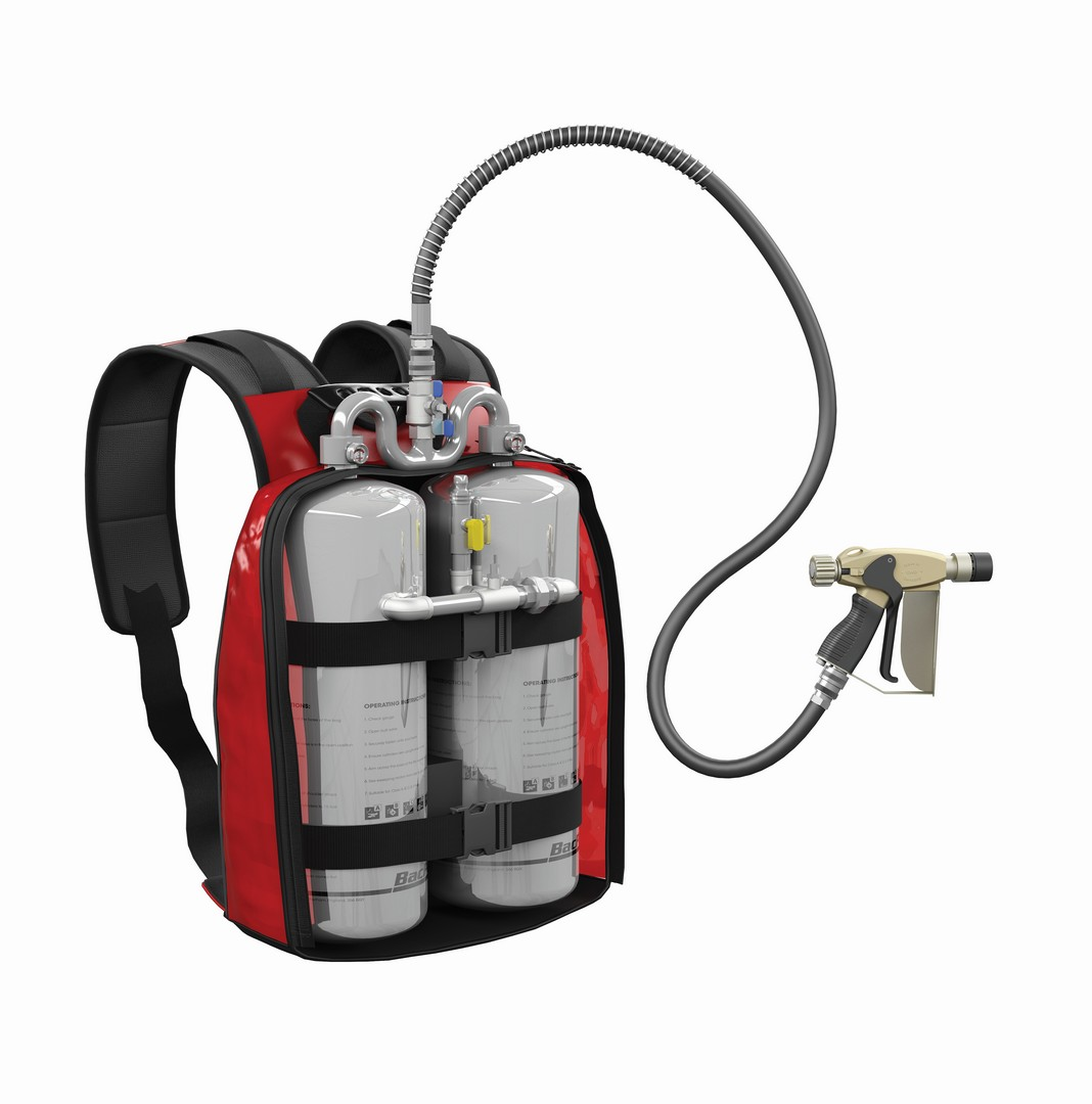 Back Pack c/w 2x3ltr cylinders